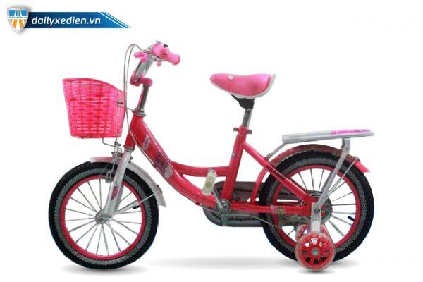 Laudai XDTE chitiet 02 600x400 - Xe đạp trẻ em lâu đài