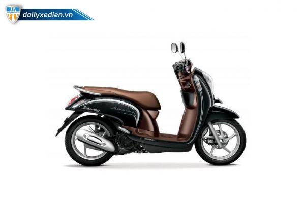 Xe máy Scoopy 50cc nau 03 600x400 - Xe máy Scoopy 50cc