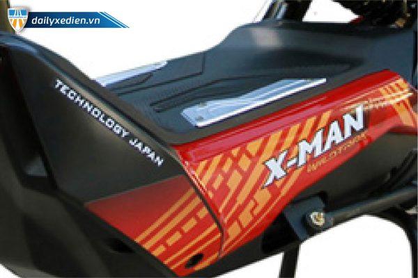 Xe may dien Dk Xman 07 de chan 600x400 - Xe máy điện Dk Xman