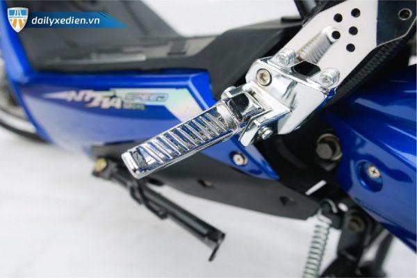 Xe may dien Xmen GT Nijia 2 Pro de chan 02 600x400 - Xe máy điện Xmen GT Nijia 2 Pro