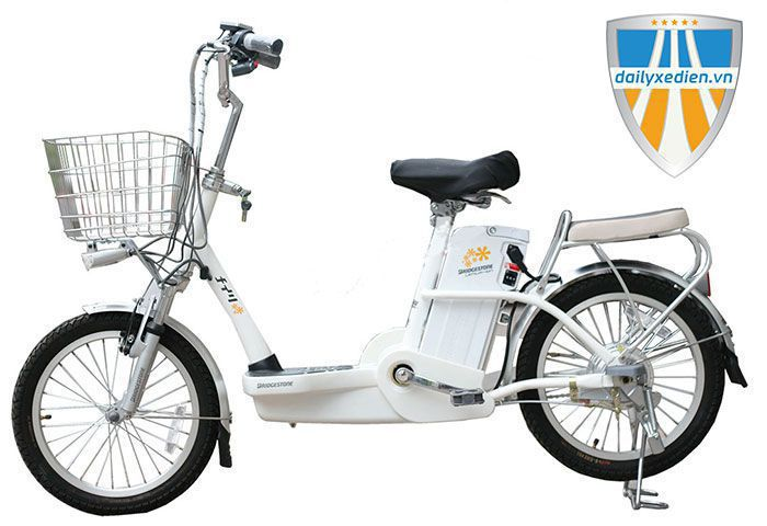 xe dap dien Bridgeston - Những dòng Xe đạp điện Nhật cũ giá rẻ tại Dailyxedien.vn