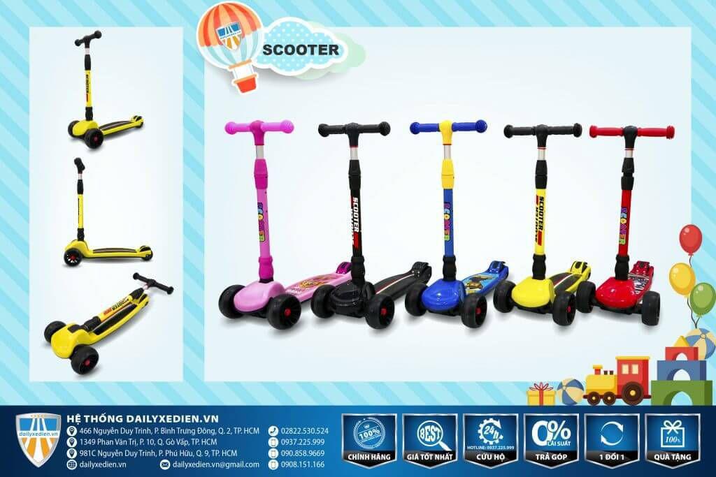 xe tre em scooter 1 1024x683 - Xe trẻ em Scooter