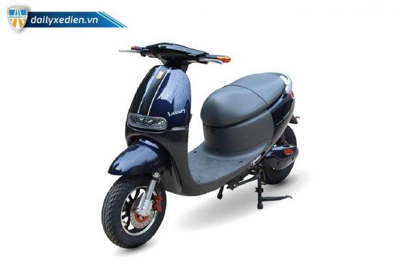 Xe máy điện DK Bike Luxury den 03 600x400 - Xe máy điện DK Bike Luxury