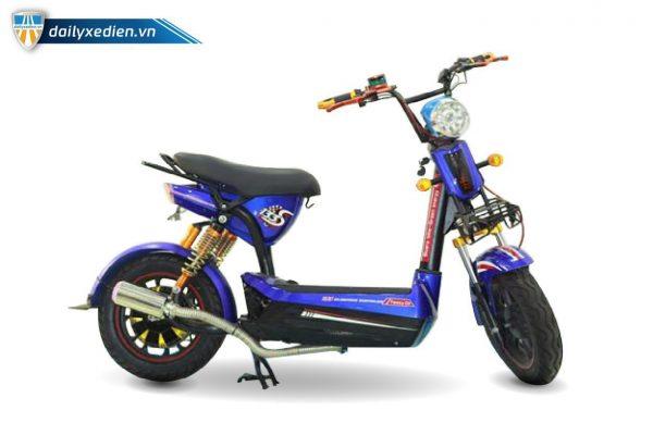 Xe may dien Bluera C5 02 600x400 - Xe máy điện Bluera C5