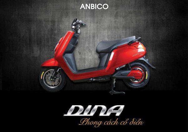 anbico fi 600x421 - Xe máy điện Anbico Dina FI