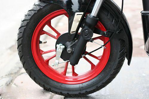 banh truoc xe - Xe máy điện Bluera C5