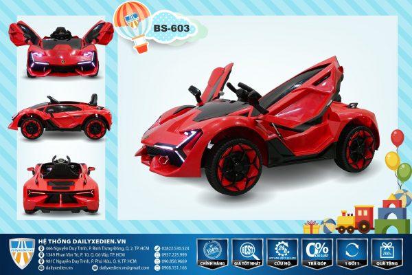 o to dien BS603 1 600x400 - Xe ô tô điện BS-603 - Đỏ