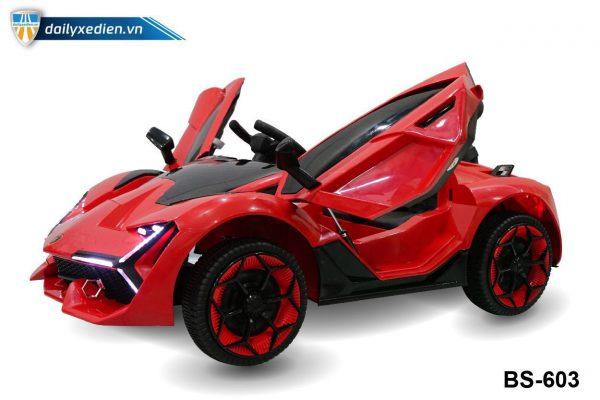 o to dien BS603 3 600x400 - Xe ô tô điện BS-603 - Đỏ