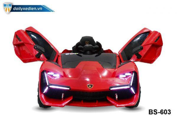 o to dien BS603 6 600x400 - Xe ô tô điện BS-603 - Đỏ