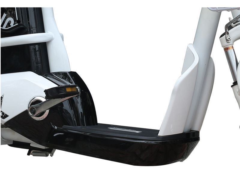 san de chan 1 - Xe đạp điện Anbico AP1705 New