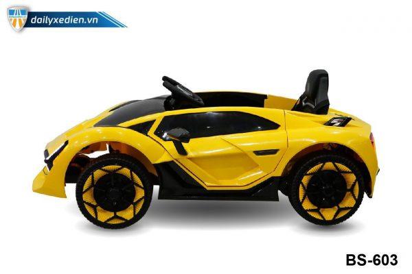 BS 603 o to dien vang maket 08 600x400 - Xe ô tô điện BS-603 - Vàng