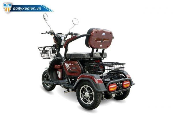 xe dien 3 banh classic 6 600x400 - Xe điện 3 bánh Classic