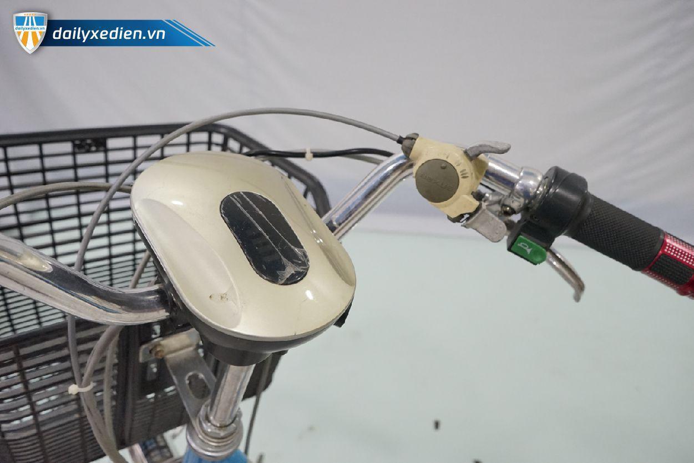 Xe tro luc mau xanh ct18 08 - Xe đạp trợ lực Nhật Bản Modle 2019