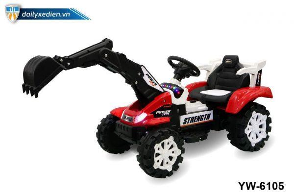 YW 6105 o to dien 03 600x400 - Xe máy xúc trẻ em YW-6105