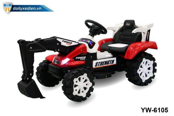YW 6105 o to dien 04 600x400 - Xe máy xúc trẻ em YW-6105