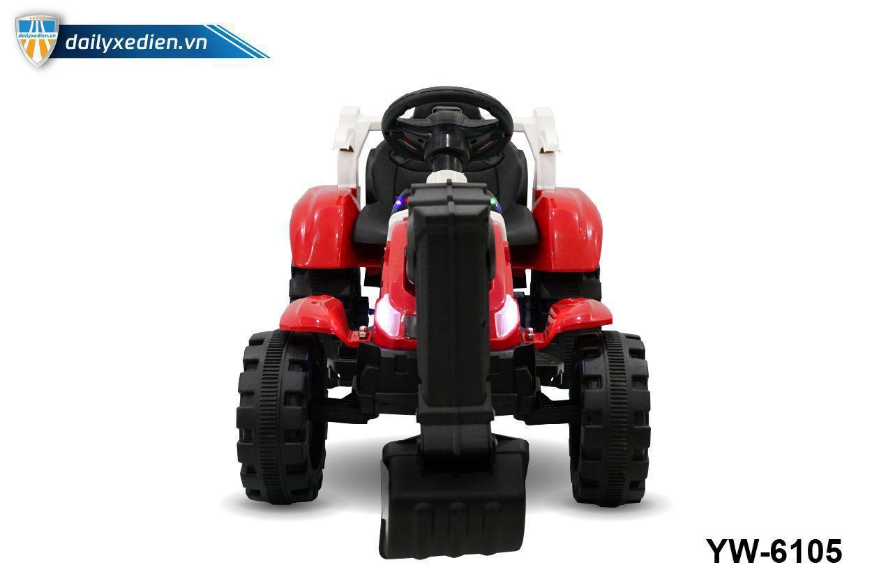 YW 6105 o to dien 05 - Xe máy xúc trẻ em YW-6105