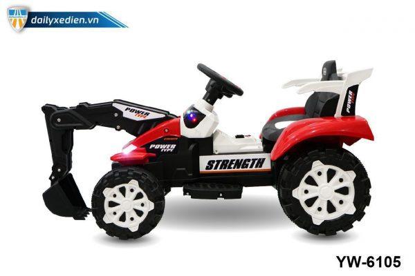 YW 6105 o to dien 06 600x400 - Xe máy xúc trẻ em YW-6105
