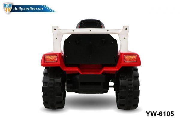YW 6105 o to dien 08 600x400 - Xe máy xúc trẻ em YW-6105