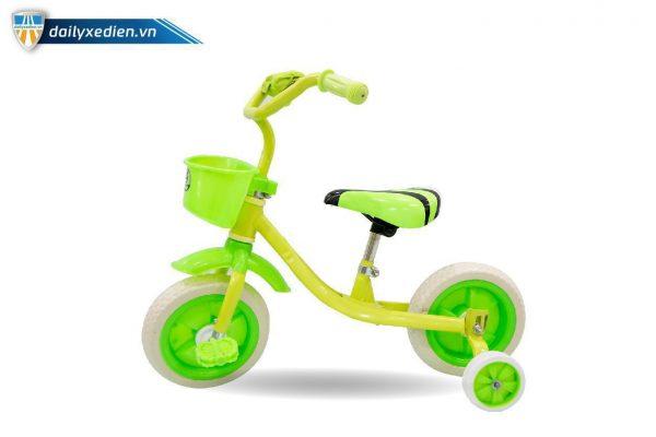 xe bon banh xanh 03 600x400 - Xe đẩy trẻ em 4 bánh B.Duke