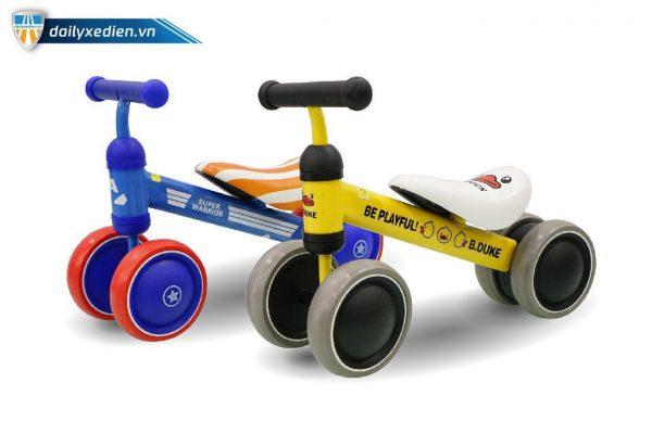 xe day 4 banh ct2xe 08 600x400 - Xe đẩy trẻ em 4 bánh B.Duke