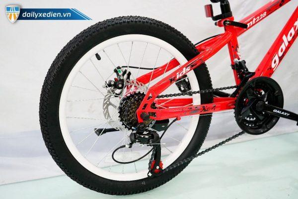 GALAXY KIDS MT228 XDTE chitiet 11 600x400 - Xe đạp trẻ em Galaxy Kids MT228