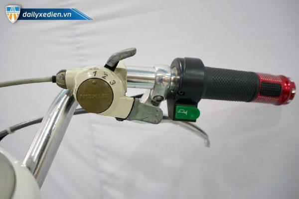 XE TRO LUC NHAT BAN MAU TRANG CT12 08 600x400 - Xe đạp trợ lực Nhật Bản - Trắng