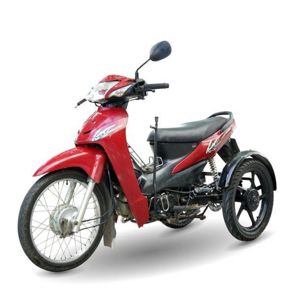 Xe ba banh Ware alpha 02 1 600x600 - Xe 3 bánh tự chế Wave Alpha Việt Nhật