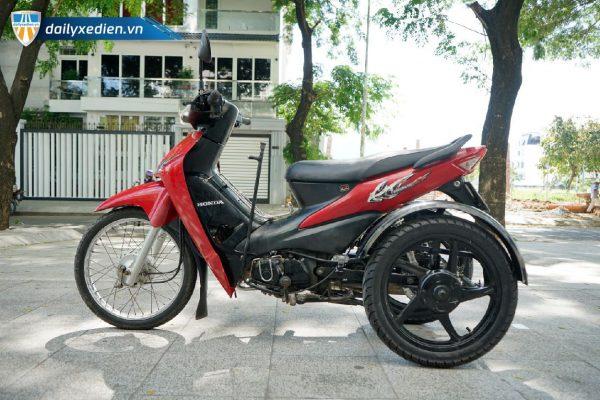 Xe ba banh Ware alpha ct1 08 600x400 - Xe 3 bánh tự chế Wave Alpha Việt Nhật