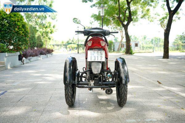 Xe ba banh Ware alpha ct2 08 600x400 - Xe 3 bánh tự chế Wave Alpha Việt Nhật