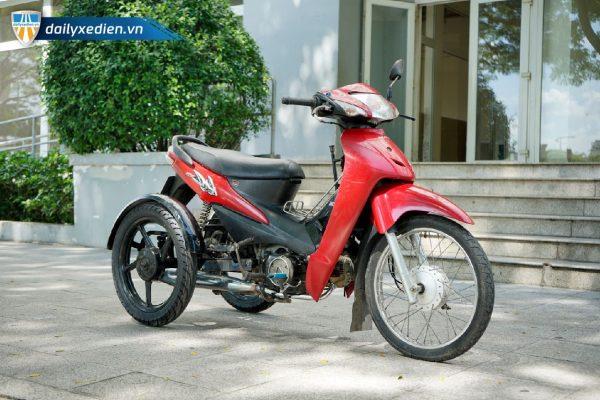 Xe ba banh Ware alpha ct4 08 600x400 - Xe 3 bánh tự chế Wave Alpha Việt Nhật