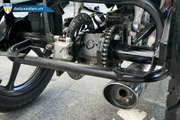 Xe ba banh Ware alpha ct9 08 600x400 - Xe 3 bánh tự chế Wave Alpha Việt Nhật