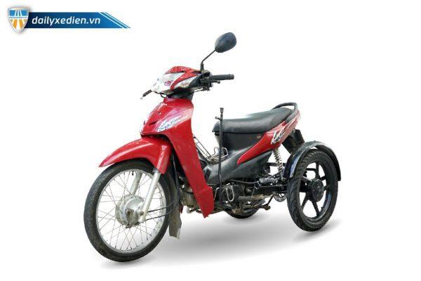 Xe ba banh Ware alpha sp 03 600x400 - Xe 3 bánh tự chế Wave Alpha Việt Nhật