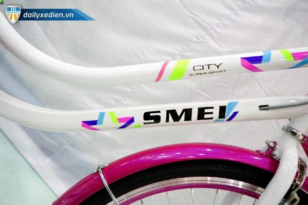 Xe dap SMEI ct7 08 600x400 - Xe đạp mini SMEI