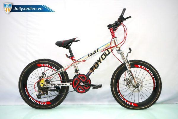 Xe dap To You 1997 sp2 08 600x400 - Xe đạp trẻ em To You 1997 - 7 lip
