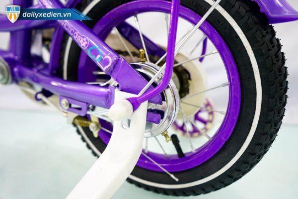 Xe dap Tshuai banh 12 mau tim ct8 08 600x400 - Xe đạp Tshuai bánh 12 - Màu tím