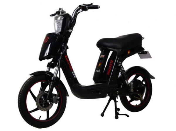 xe dap dien LiXi cap A3 den 600x447 - Xe đạp điện LiXi Cap A3