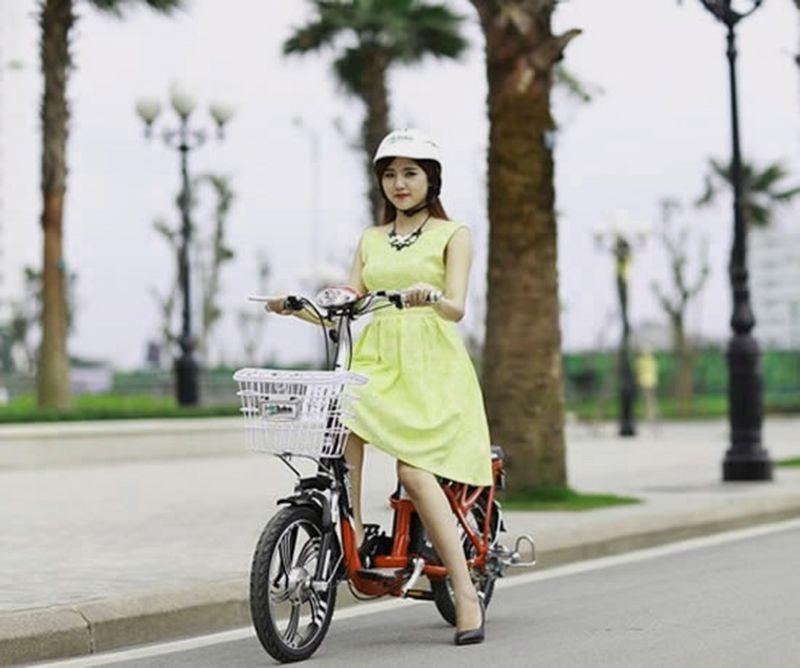 xe dap dien cho nu - Top 5 thương hiệu xe đạp điện cho nữ