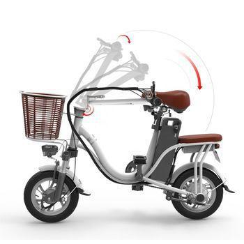 folt neck - Xe đạp điện nhập khẩu FN