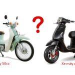 Bất ngờ với lựa chọn giữa xe máy 50cc và xe máy điện