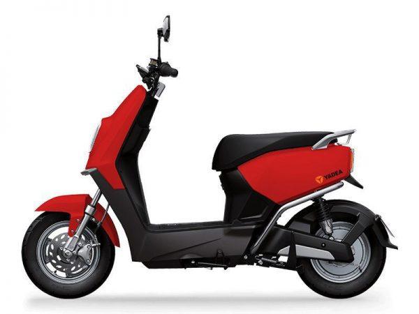 xe may dien yadea e3 red 600x450 - Xe máy điện Yedea E3