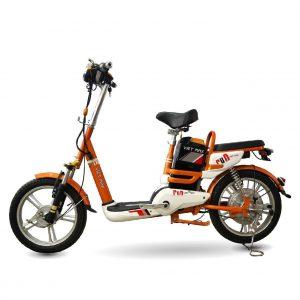 XE DAP DIEN VIETMAX RUN CAM dailyxedien.vn 1 300x300 - Xe đạp điện thanh lý Vietmax Run - Màu cam