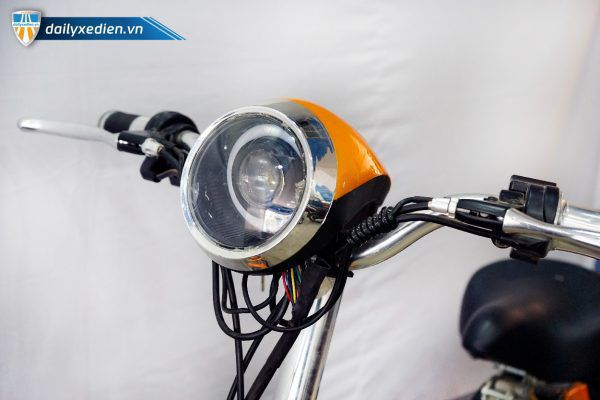 XE DAP DIEN VIETMAX RUN CAM dailyxedien.vn 11 600x400 - Xe đạp điện thanh lý Vietmax Run - Màu cam