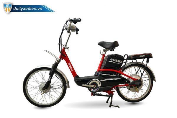 XE DAP DIEN YAMAHA ICAT8 DO 02 600x400 - Xe đạp điện thanh lý Yamaha Icats - Màu đỏ