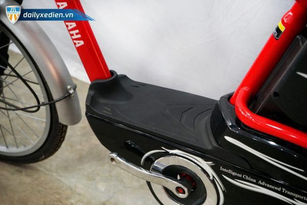 XE DAP DIEN YAMAHA ICAT8 DO 06 600x400 - Xe đạp điện thanh lý Yamaha Icats - Màu đỏ