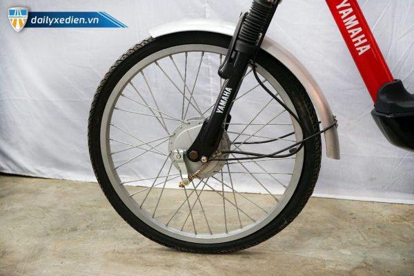 XE DAP DIEN YAMAHA ICAT8 DO 07 600x400 - Xe đạp điện thanh lý Yamaha Icats - Màu đỏ