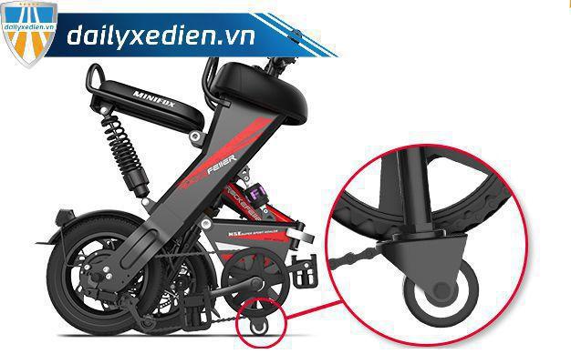 rock 06 - Xe đạp điện gấp RockerFeller