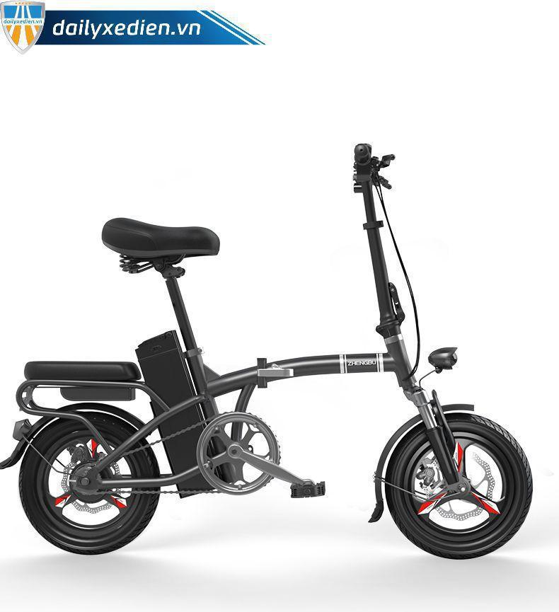 zhengbu 08 - Xe đạp điện Zhengbu