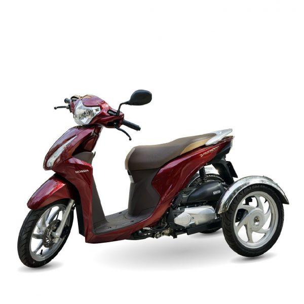 Xe ba banh Vision moi Sp 01 600x600 - Xe 3 bánh Vision tự chế Việt Nhật - Visai + Bộ Số Tiến/Lùi Bằng Điện