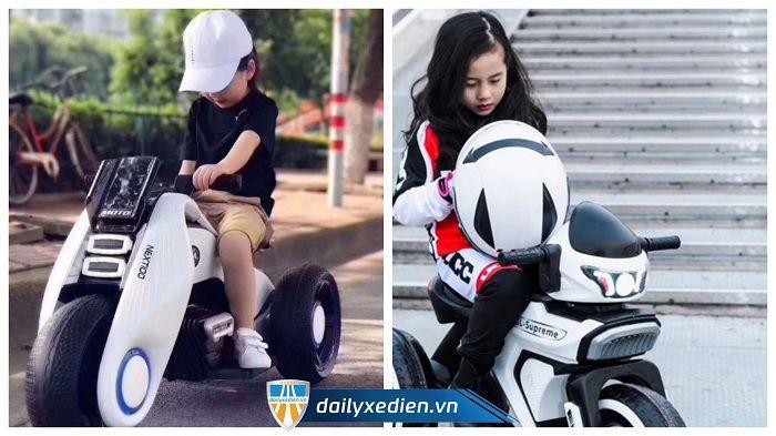 Giá xe máy điện trẻ em hiện nay như thế nào