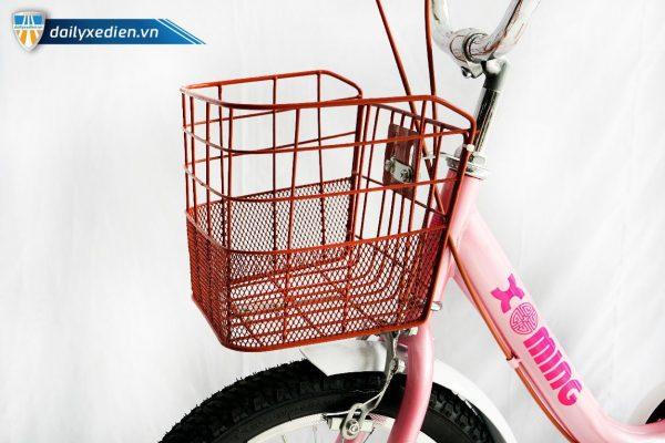 xe dap tre em nu Xaming 16 inch 07 600x400 - Xe đạp trẻ em cho bé gái Xaming - 16 inch